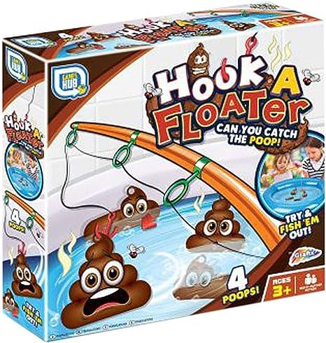 TOYLAND® Hook a Floater Childrens Juego de Pesca con Caca - Novedad Juego de Agua con Caca Flotante: Amazon.es: Juguetes y juegos