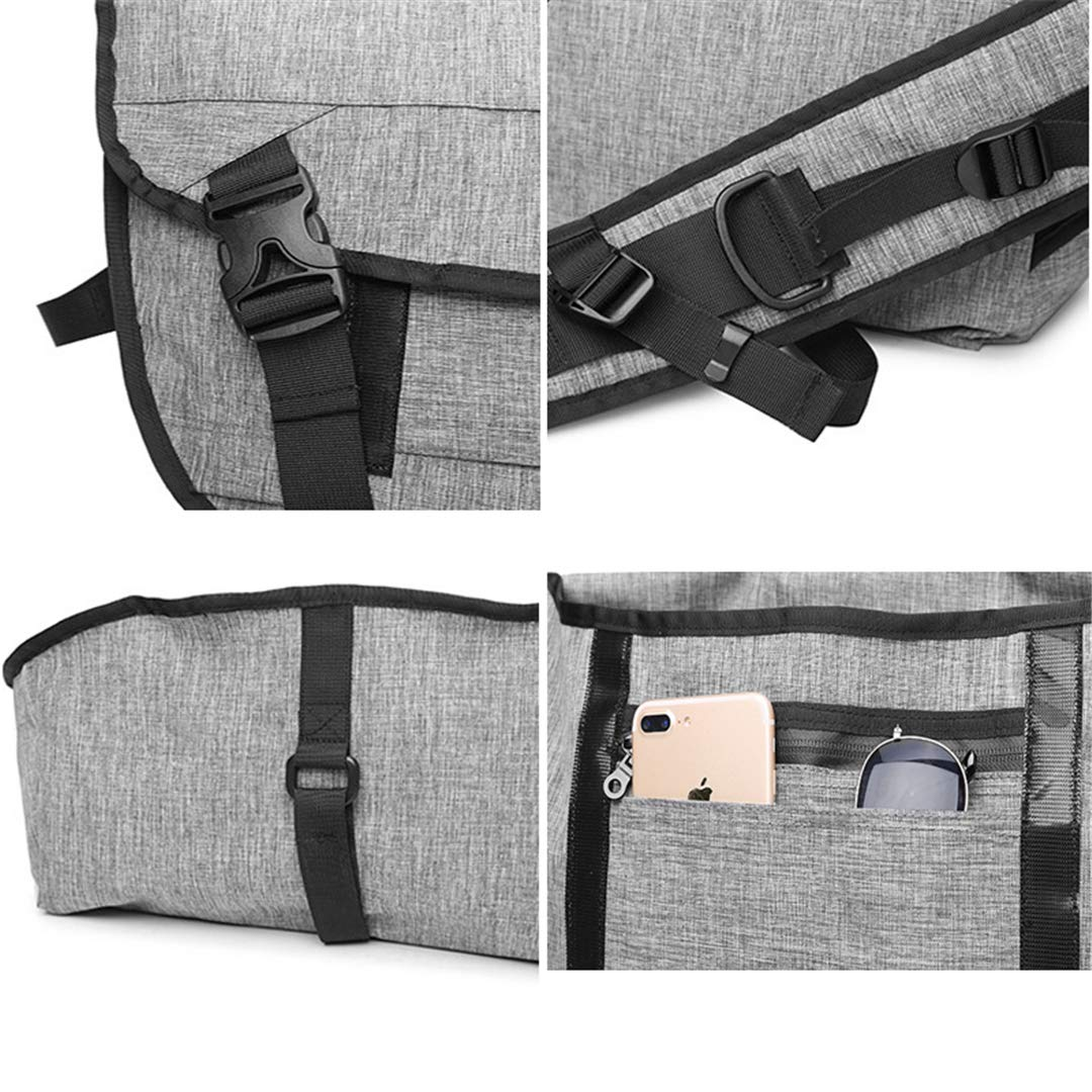 Canvas Men Multifunction Travel Bag Luggage Bags Large Capacity ping Backpack Casual Duffle Bag Grey