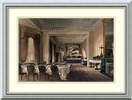 Framed Art Print U0027The Dining Room, Osborne Houseu0027 By James Roberts
