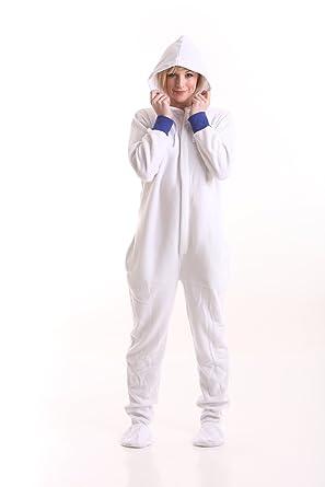pajamas White adult onesie