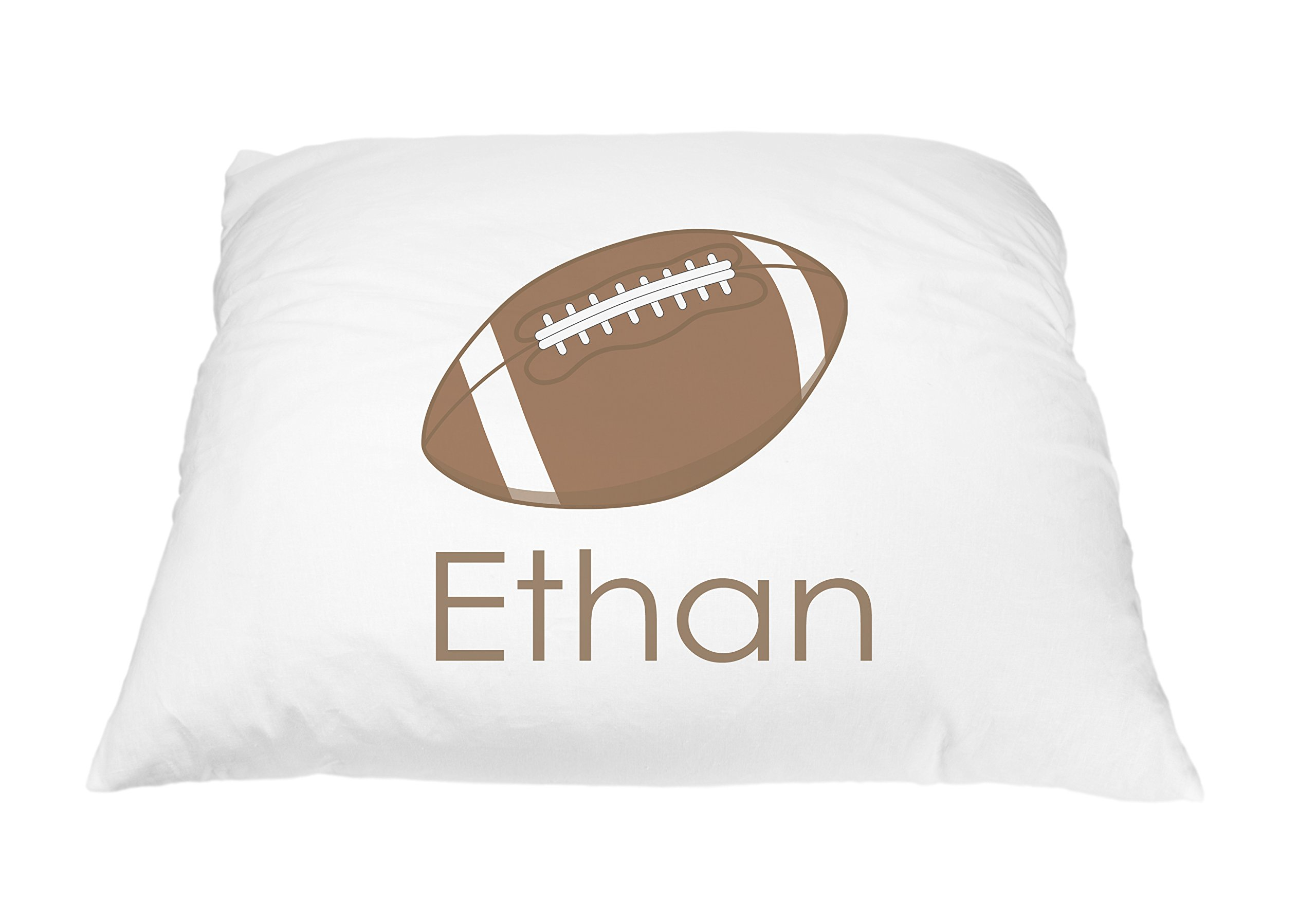 Personalized Kid's Football Sports Pillowcase Microfiber Polyester 20 by 30 Inches, Football Pillowcase, Boys Football Room Décor, Personalized Football Gifts, Toddler Football Pillow Case