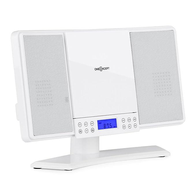 18 opinioni per oneConcept V14 • mini impianto stereo compatto • lettore CD MP3 • radio VHF • 20