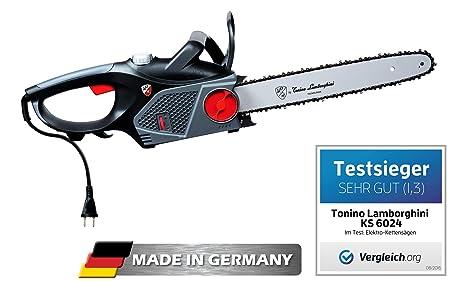 Tonino lamborghini elektro kettensäge ks 6024 schnittlänge 40cm