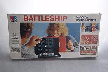 BARCO DE GUERRA MB JUEGOS - VINTAGE 1983: Amazon.es: Juguetes y juegos