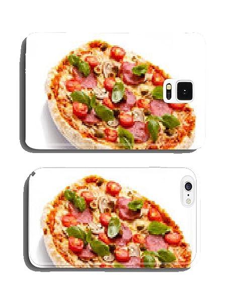 On Pizza Con Sfondo Bianco Copertura Del Telefono Case Parentitem