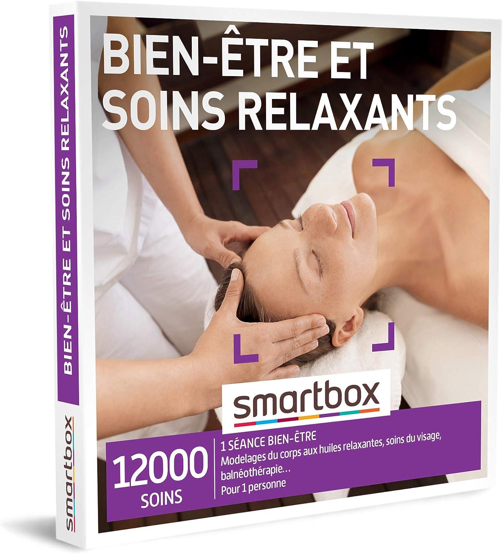 SMARTBOX - Coffret Cadeau - BIEN-ÊTRE ET SOINS RELAXANTS - 20 soins :  modelage du corps, balnéothérapie, soin du visage