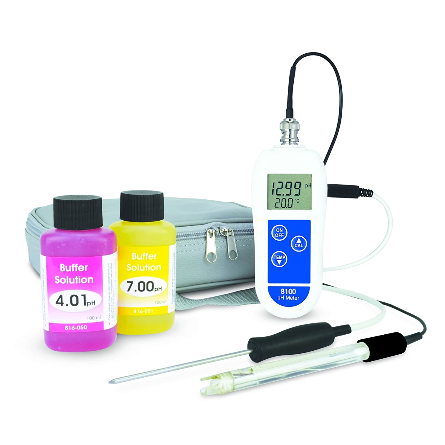 ETI 8100 pH and temperature meter kit ETI Ltd
