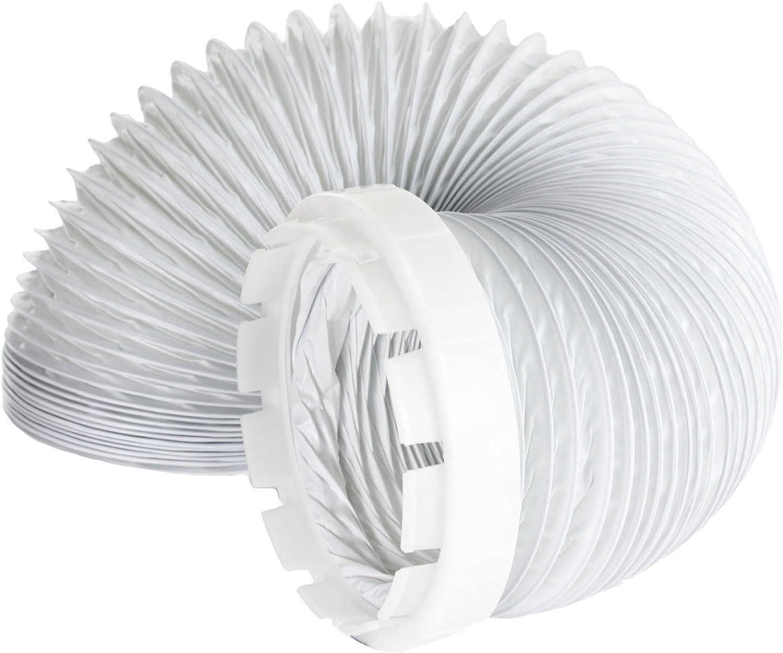 SPARES2GO manguera de ventilación y kit adaptador para Hotpoint Secadora de ropa (2 Metros, 4 '' de montaje)