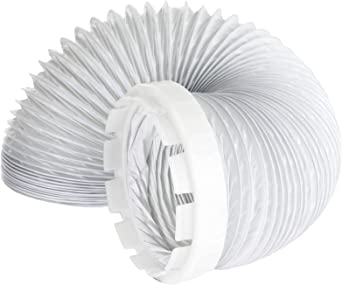 SPARES2GO Dual Vent Hose Connection Ring Kit for White Knight Tumble Dryer