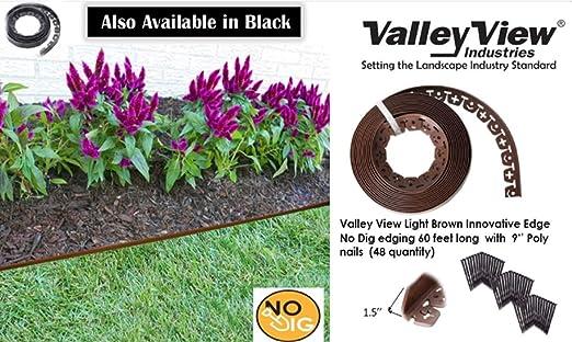 Valley View NDE-60LB - Clavos de Polietileno para jardín (48 ...