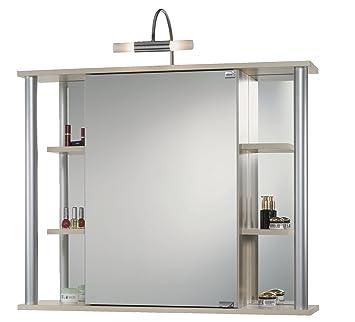Jokey Spiegelschrank Biella ahorn Amazon Elektronik