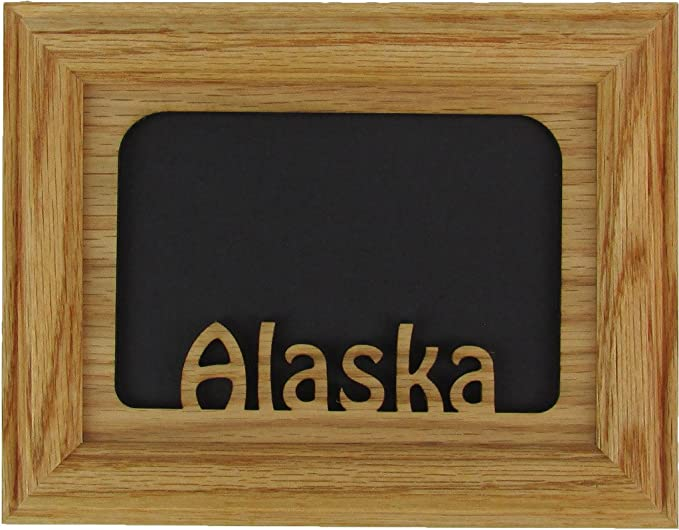Alaska Gift Alaska Memories 11x14 Alaska State Picture Frame Alaska Wall Decor Travel Picture Frame Traveler Gift