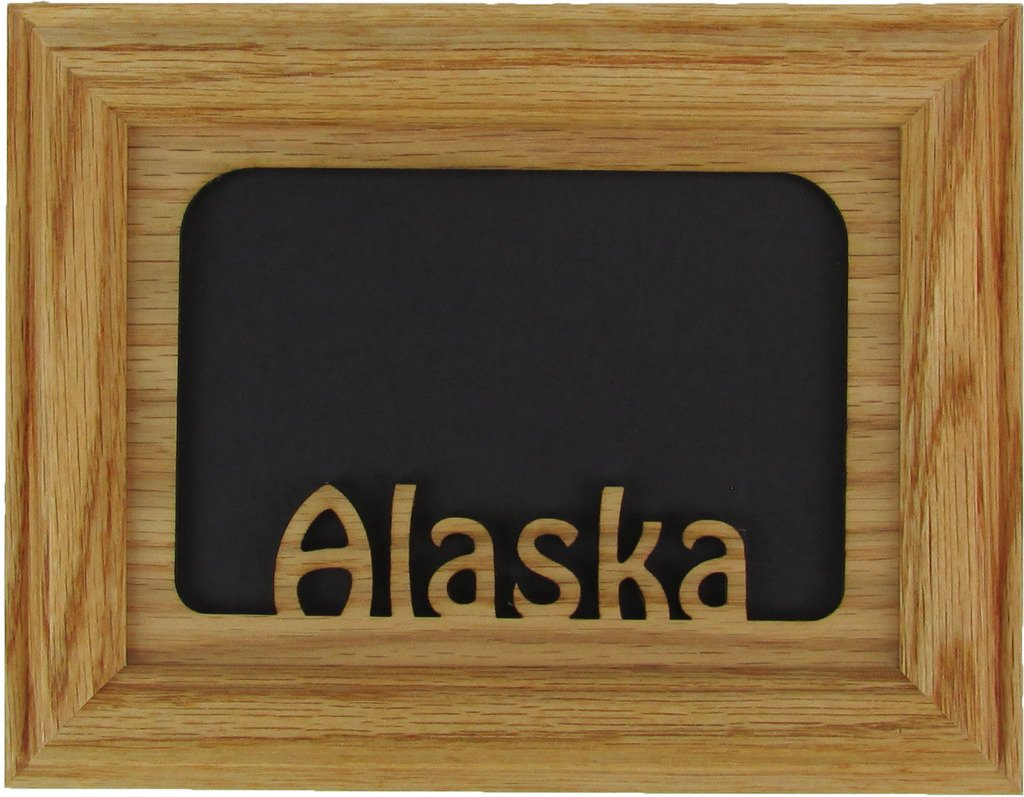 Amazon.com - Northland Frames and Gifts Inc - Alaska Oak Picture ...
