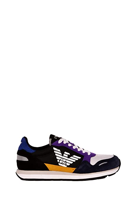00ff9914bc7 Emporio Armani Sneakers Uomo X4X215-XL200 Primavera Estate  Amazon ...