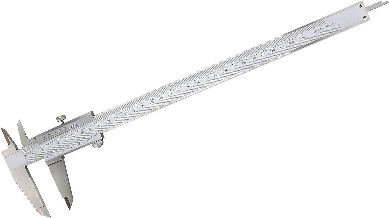 Precision Durable Stainless Steel Vernier Caliper Measurements Measuring Tool 12 Inch 300mm Range