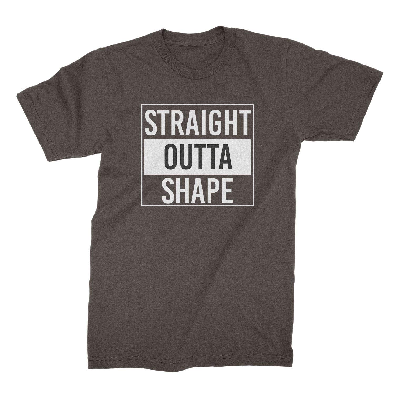 We Got Good Straight Outta Shape T Shirt Out Of Shape Tshirt Funny Gym Shirts With Sayings