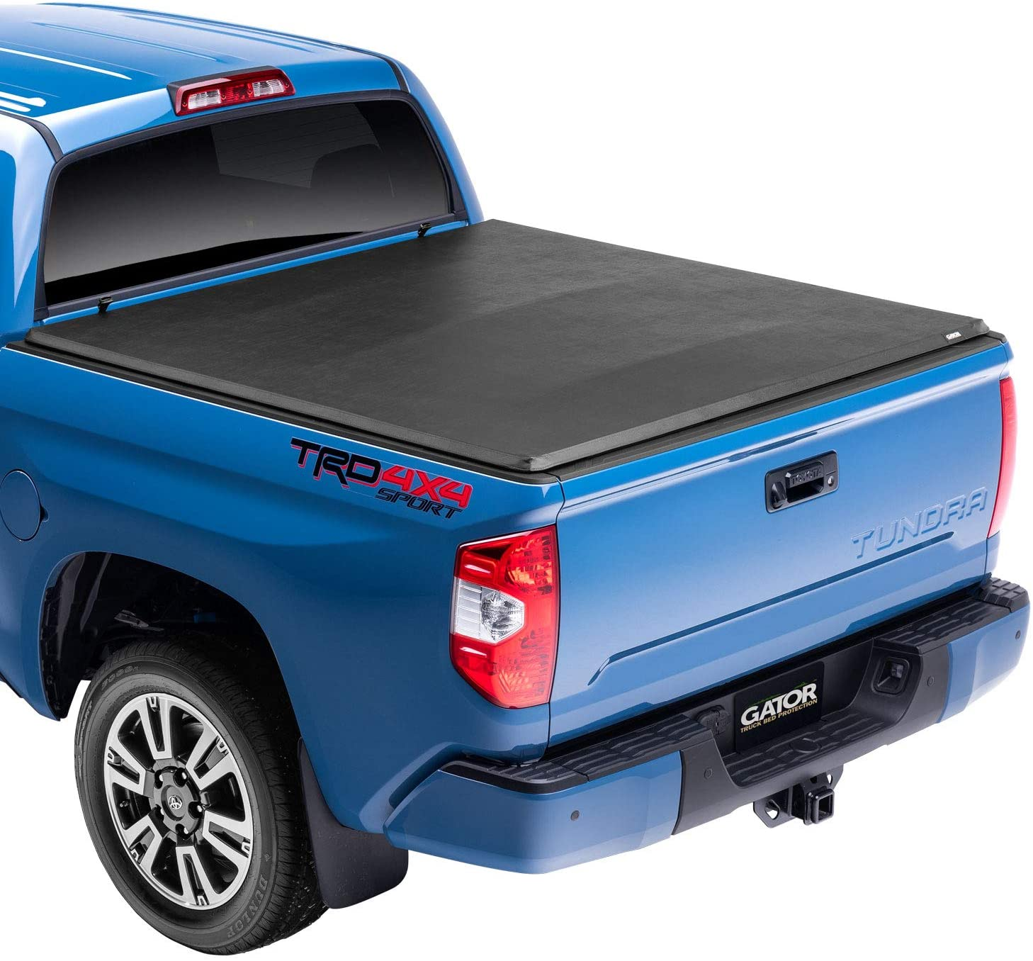 Amazon Com Gator Etx Soft Tri Fold Truck Bed Tonneau Cover 59406 Fits 2014 2020 Toyota Tundra 5 5 W Out Rail System Bed Made In The Usa Automotive