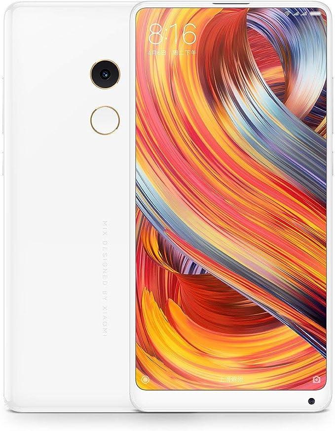 Xiaomi Mi Mix 2 4G 128GB Dual-SIM White EU: Xiaomi: Amazon.es ...