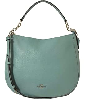 9405fc2216ea Coach Pebble Leather Elle Hobo Shoulder Bag