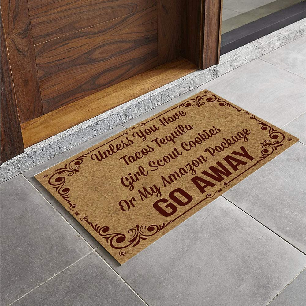 Artswow Doormat Unless You Have Tacos...| eDesign Tools for DIY Enthusiasts by Revision Custom Home Design | eDesign Tribe Blog