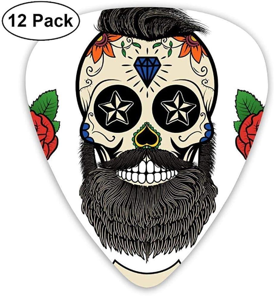 Skeleton Tattoo Guitar Picks Guitarra Eléctrica Paquete de 12 ...