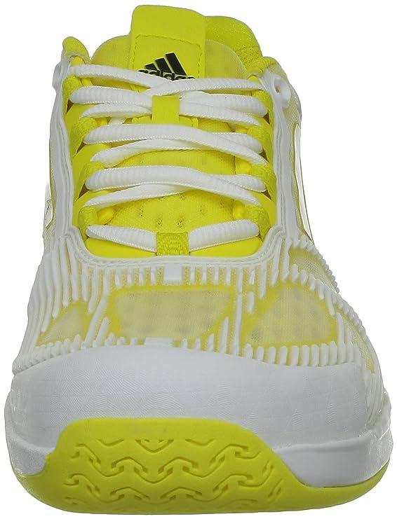 Adidas CC ADIZERO FEATHER II Scarpe da Tennis Giallo per