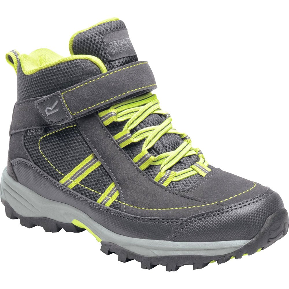 Regatta Unisex-Kinder Trailspace Ii Mid Junior Walking Stiefel Trekking- & Wanderstiefel,