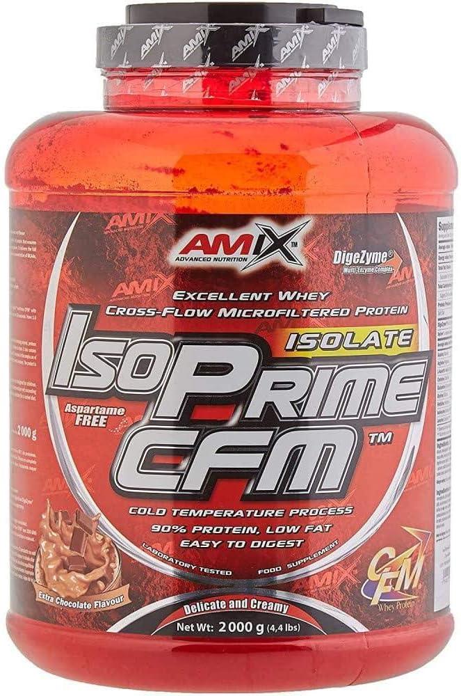 AMIX - Proteína Isolada - IsoPrime CFM Isolate Protein - 2 Kg - Gran Aporte de Aminoácidos - Contiene Enzimas Digestivas - Libre de Aspartamo - ...
