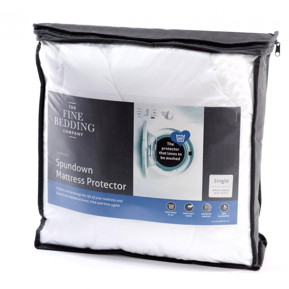 La Fine Ropa de Cama Company Spundown Protector de colchón - King Size: Amazon.es: Hogar
