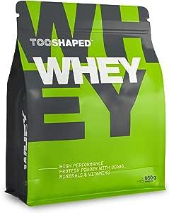 WHEY Protein (vainilla), 1000 g, proteinas para masa muscular en polvo de alto rendimiento con BCAA de TOOSHAPED
