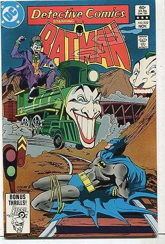 Amazon Com Detective Comics Batman 532 Nm Joker Train Dc