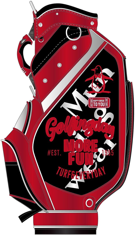 Munsingwear マンシングウェア ゴルフ 2018年 キャディバッグ MQBLJJ01 B078HCHGHBBK00:ブラック