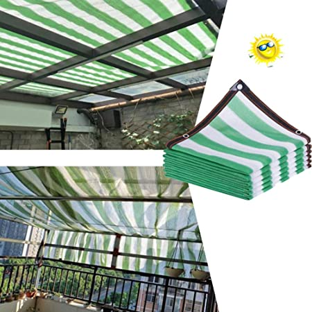 LJIANW Vela de Sombra Toldo Vela, Bloqueador Solar Tela De Sombra 90% Bloque UV Tela
