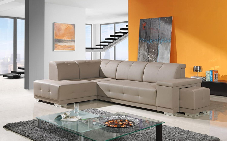 Benni 0401 Luxus Designer Sofa Couch L Form Hochwertig Eckcouch