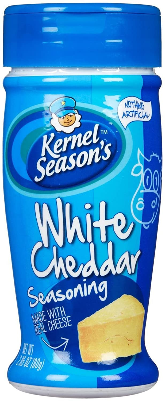Kernel Season's Popcorn Seasoning, White Cheddar, 2.85-Ounce Shaker Single Pack