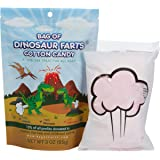 BAG OF FARTS Candy Funny All Ages Unique Birthday Gag Gift Friends, Mom, Dad, Girl, Boy Grandson Granddaughter Stocking Stuffer While Elephant Christmas (Dinosaur Farts Cotton Candy)