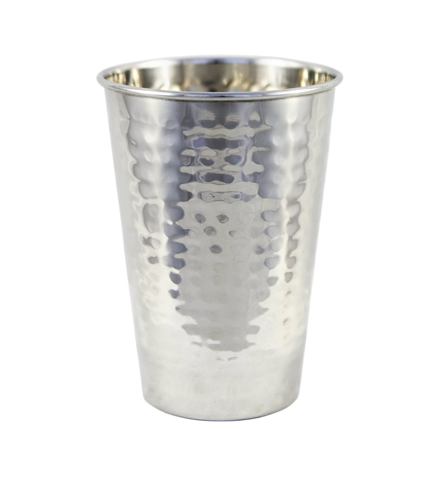 Premium Quality Hammered Stainless Steel Tumbler - 100% Pure Hammered Stainless Steel Tumbler by Alchemade (Image #1)