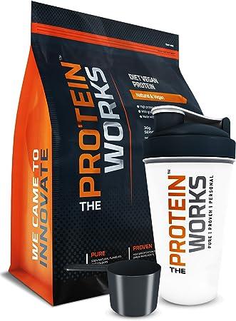 The Protein Works Proteína Vegana Dietética (Incluye Shaker y ...