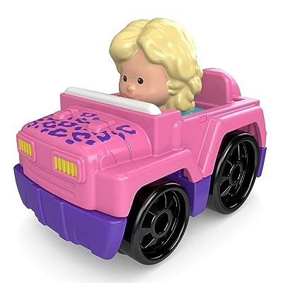 Fisher-Price Little PeopleWheelies Vehicle, 4x4: Toys & Games