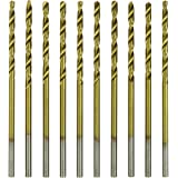 HTS 116A9 10 Pc Titanium Coated Twist Drill Bits (55)