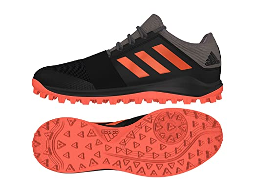separation shoes a82ed cab9a adidas Divox 1.9S zwart grijs hockeyschoenen heren Amazon.fr Vêtements et  accessoires