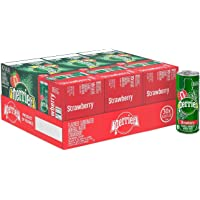 Perrier Strawberry Flavored Sparkling Water, 250ml (Pack of 30)