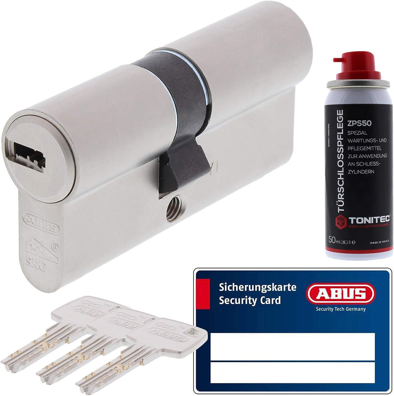 40//70 Abus EC660 Profilzylinder Schließzylinder Knaufzylinder viele Schlüssel