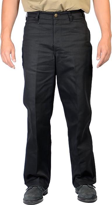 6600c7e75e Amazon.com  Ben Davis Black Original Ben s Cotton Twill Pants 29X30 ...