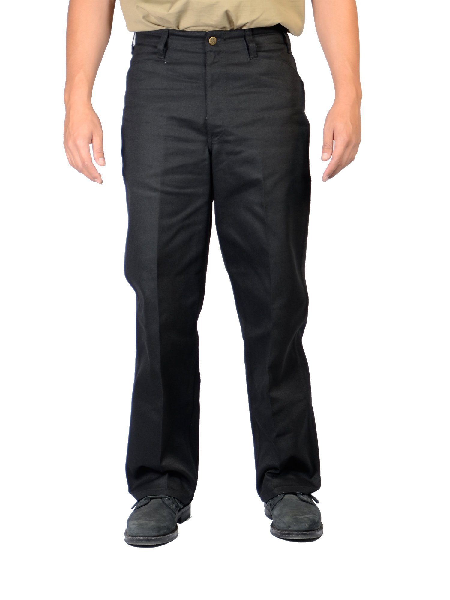Ben Davis Black Original Ben's Cotton Twill Pants 36X32