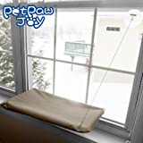 Cat Window Perch Window Mounted Cat Bed Space Saving Cat Bed Cat Hammock Cat Resting Seat Safety Mounted Cat Bed - Providing all Around 360° Sunbath for Cats Weighted up to 30lb 45lb