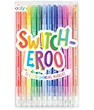 OOLY, Switch-Eroo Color Changing Markers, Set of 12