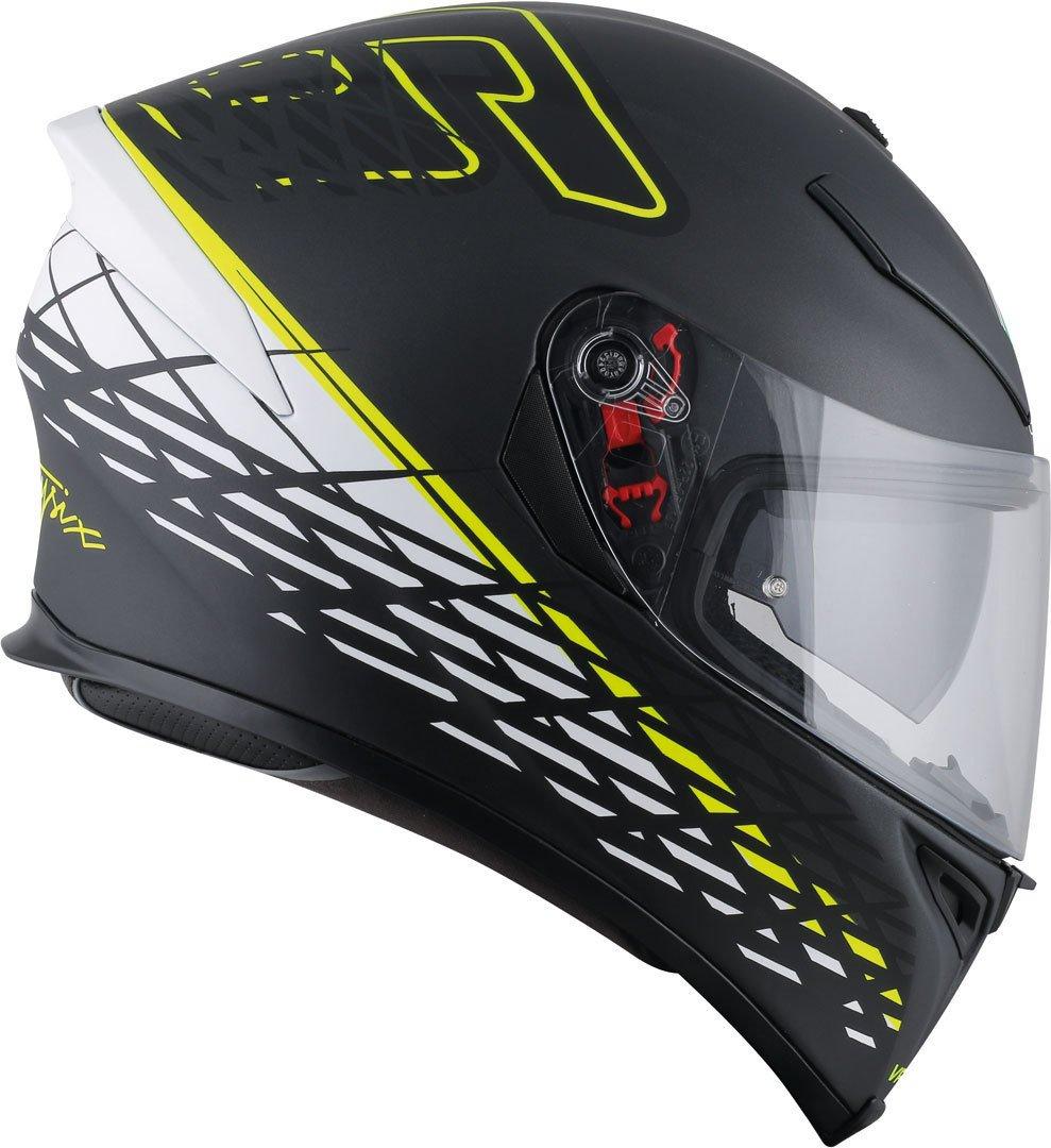 L Thorn 46/Matt Black//White//Yellow AGV Casco Moto K-5/S E2205/Top plk