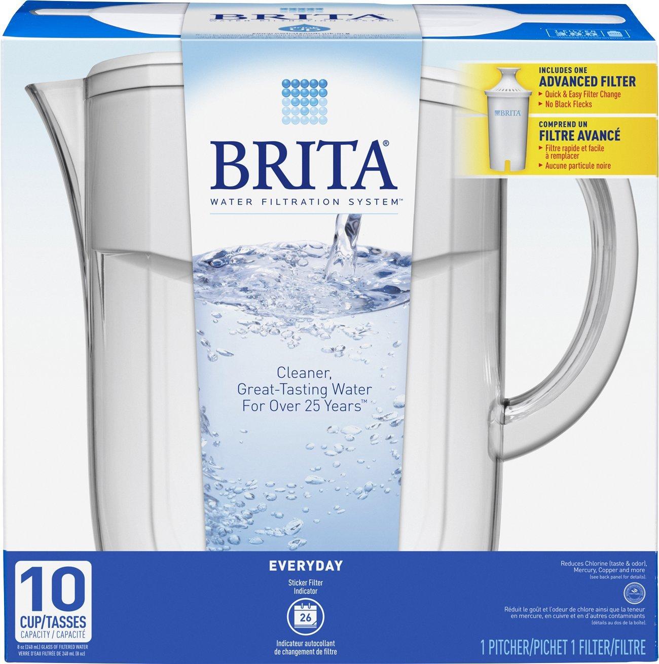 Brita 10 Cup Water Pitcher