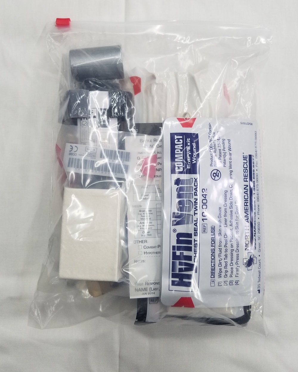 Gunfighters Trauma Kit (TTM Kit #3) by The Tactical Medic / North American Rescue (Image #3)